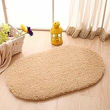 Ellipse Watergate Badematte/Lobby Fußmatten/Schlafzimmer Türmatte/ Bad Küchentür-Matten-D 80x200cm(31x79inch)