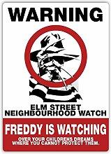 Elm Street Neighbourhood Watch–Metall
