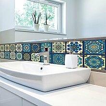 Elobaby Badezimmer Vintage Fliesen Tapete Stil