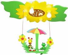 Elobra Deckenlampe Blume Sonnenblume Kinderzimmer