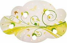 Elobra Deckenleuchte Wolke Blume-Phantasie mit