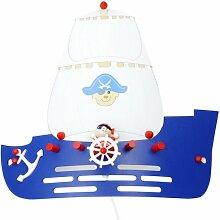 Elobra Kinder Lampe Wandlampe Piratenschiff