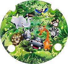 Elobra Kinderlampe Deckenleuchte Wildnis Dschungel