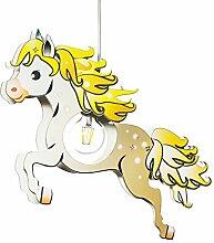Elobra Kinderlampe Pferd Pendelleuchte für