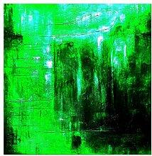 elOleo Wandbild 120x120 Ölbild auf Leinwand