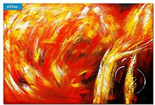 elOleo Wandbild 120x180 Ölbild auf Leinwand