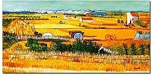 elOleo Wandbild 60x120 Ölbild auf Leinwand