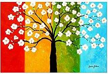 elOleo Wandbild 60x90 Ölbild auf Leinwand