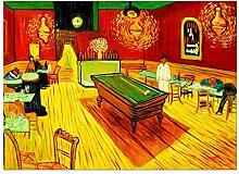 elOleo Wandbild 80x110 Ölbild auf Leinwand