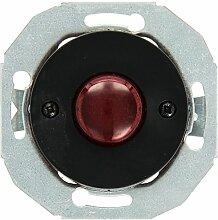 Elso Leuchtmakierung mit Zentralplatte, schwarz