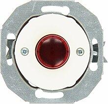 Elso Leuchtmakierung mit Zentralplatte, weiß Linse / rot Renova, WDE011080