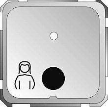 Elso Steckdose für Birntaster Comfort ohne Licht F/S, perlweiß, 735160