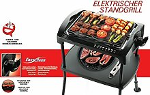 ELT Standgrill Barbeque Elektrogrill Cool-Touch 2000W Elektrischer Tischgrill BBQ-Grill Partygrill Balkongrill (Stand)