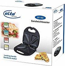 Elta Edelstahl Sandwichtoaster Sandwichmaker