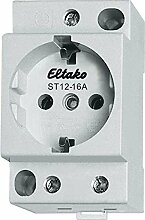 Eltako Steckdose 16A/250V AC, 1 Stück, ST12-16A