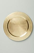 Elysees Platzteller - Gold