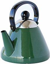 EMA-LION Emaille Teekessel, 1,5 L, Wasserkessel,