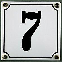 Emaille Hausnummernschild - Wählen Sie Ihre