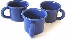Emaille-Kaffeetasse, Teetasse oder