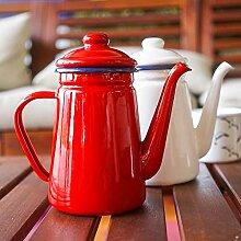 Emaille-Teekanne Emaille Wasserkocher