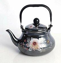 Emaille-Teekanne Emaille Wasserkocher Retro