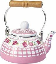 Emaille-Teekessel, Wasserkessel nostalgisch |