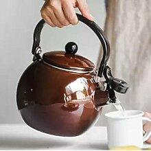 Emaillierter Wasserkocher Emaille Wasser Teekanne