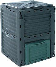 EMAKO Komposter mit Deckel 300L Gartenkomposter