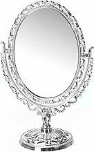 Emako Kosmetikspiegel im Barockstil, oval