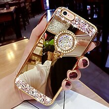 EMAXELERS iPhone 6S Hülle Glitzer Bling Kristall