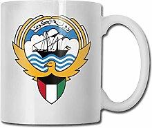 Emblem der Kuwait Fashion Coffee Cup Porzellan