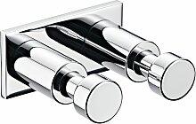 emco system 2 Hakenleiste 2-fach 5,3 x 4,9 cm