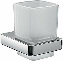 Emco Trend Glashalter, Badzubehör, Kristallglas