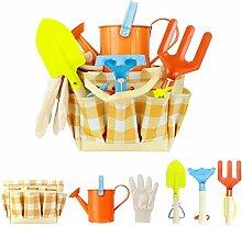 Emeili Kinder Gartenspielzeug, 7 Werkzeuge für