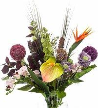 EMERALD künstlicher Blumenstrauß Bouquet EXOTIC