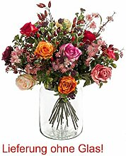 Emerald Künstlicher Blumenstrauß, Kunstblumen,