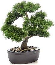 Emerald Künstliches Pinus-Bonsai in Brauner