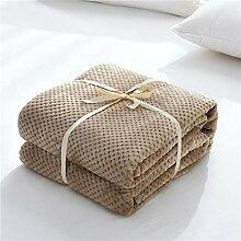 EMEZ Blanket Hochwertige Decke Decke Coral Fleece