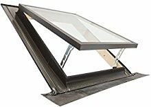 Emica Dachfenster/Dachflächenfenster–Linie BEST Oberlicht-Kippfenster aus Aluminium