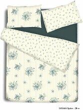 Emily Bettbezug Set mit Pillowcases- Bettwäsche Set Im Einzel-, Doppel-, King Und Super King Size Betten, Emily Green, King Size