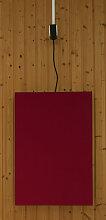 EMK Infrarotheizung Tucana, Heizleistung 600W, rot (RAL3004) Infrarotheizung Elektroheizung