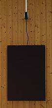 EMK Infrarotheizung Tucana, Heizleistung 600W, schwarz (RAL9005) Infrarotheizung Elektroheizung
