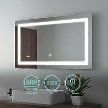 EMKE 100x60cm LED Badspiegel Wandspiegel