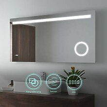 EMKE 120x60cm LED Beleuchtung Badspiegel
