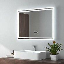EMKE 80x60cm LED Badspiegel Wandspiegel