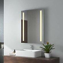 EMKE LED Badspiegel 60x80cm Badspiegel mit