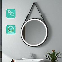 EMKE LED Badspiegel Rund 60 cm Durchmesser LED