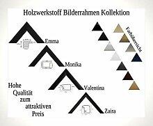 Emma Holzwerkstoff Bilderrahmen robust kantig 100