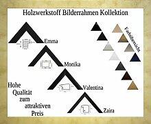 Emma Holzwerkstoff Bilderrahmen robust kantig 35 x