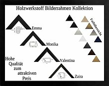 Emma Holzwerkstoff Bilderrahmen robust kantig 50 x